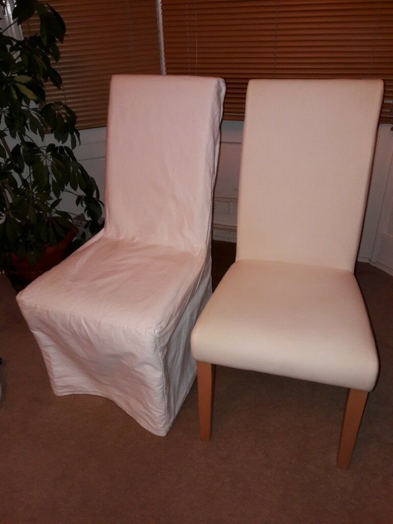pink chair covers ikea bicycle exercise machine six dining in sunderland tyne and wear gumtree