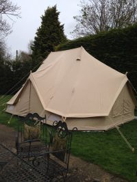 Ultimate 6m Emperor Bell Tent with fab extras: inner sleep ...