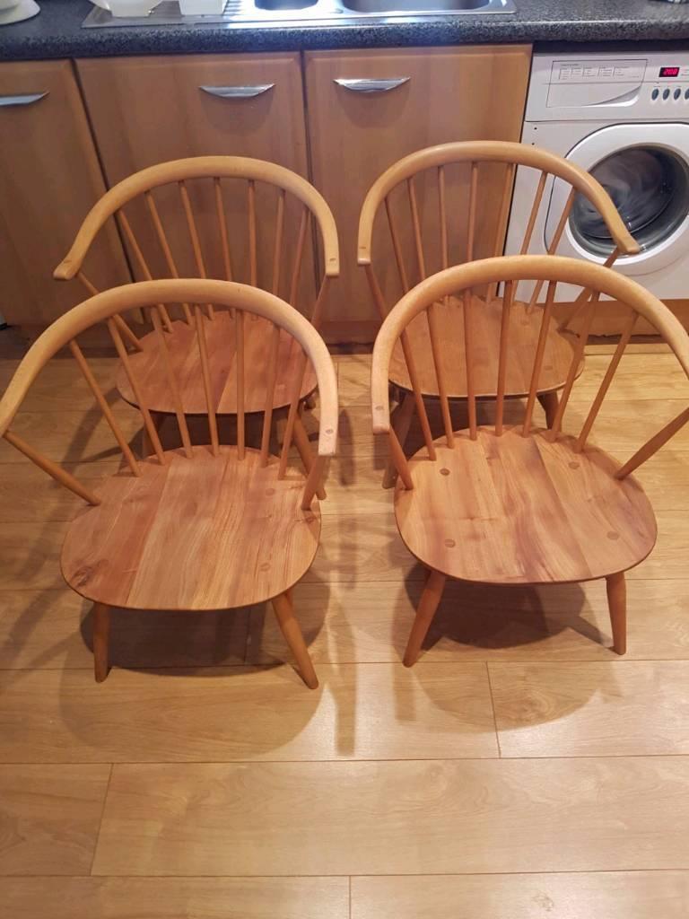 bean bag chairs for kids ikea repair plastic lawn 4 ercol cowhorn low fireside   in chorlton, manchester gumtree