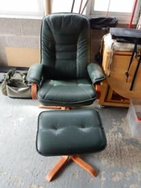bedroom chair gumtree ferndown fishing bed black covers in dorset leather swivel and reclining