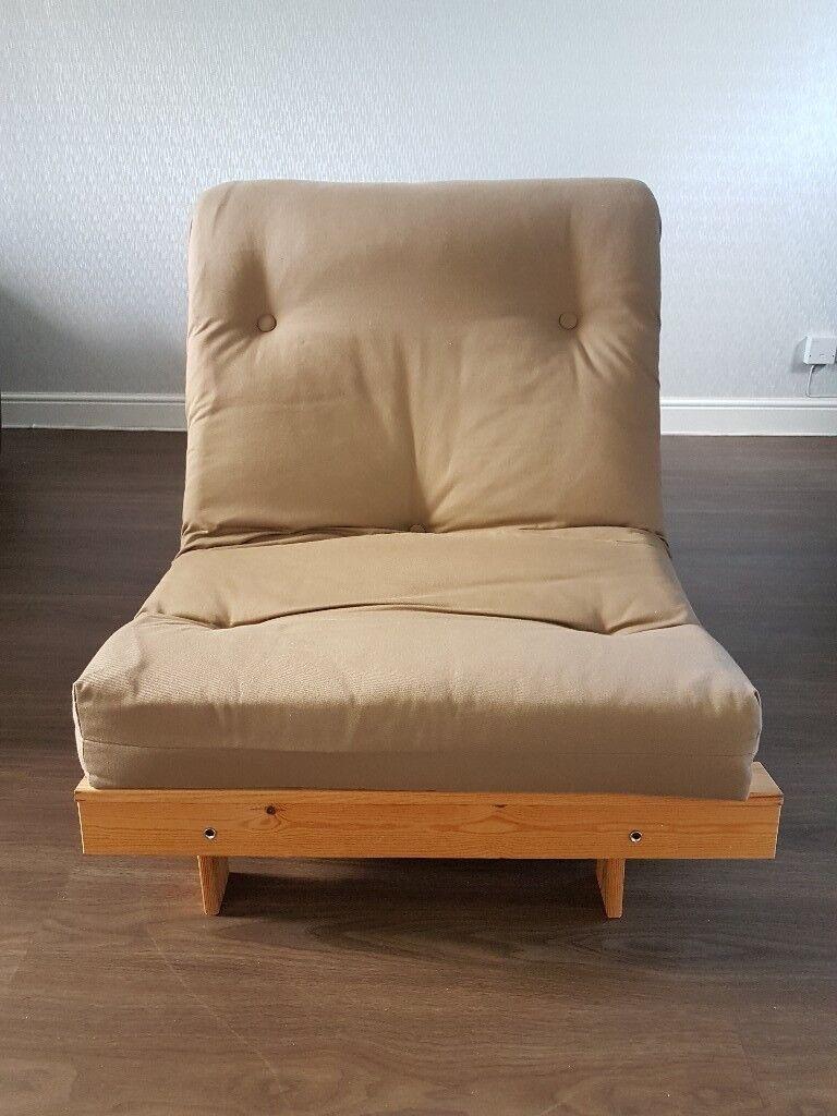 corner sofa bed uk argos sectional small living room home single futon with mattress - light ...