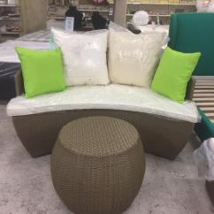 Cast Iron Table And Chairs Gumtree Office Ebay Rattan Half Moon Sofa Set | In Thurmaston, Leicestershire