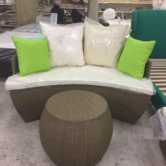 Rattan Half Moon Sofa Set Napa Casual Convertible Storage In Thurmaston Leicestershire Gumtree