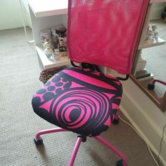 Plastic Swivel Chair Desk Mat - Ikea Torbjorn In Pink Perfect Condition. Selling Asap! | Sciennes ...