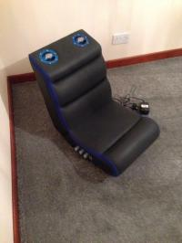 Pyramat PM220 Sound Rocker gaming chair seat