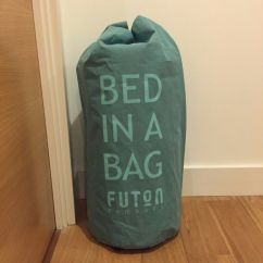 Single Pine Futon Sofa Bed With Mattress Iron Set Online Chennai Company Roll Up Mattress: In A Bag | ...