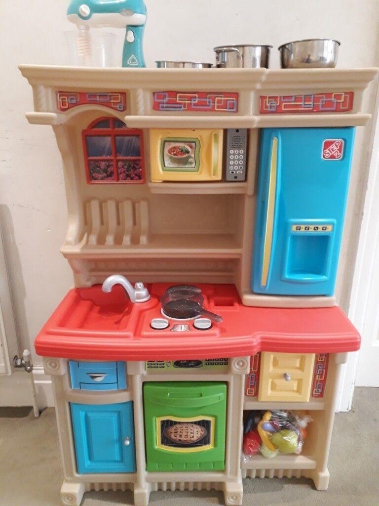 childrens toy kitchen ikea hutch in salford manchester gumtree