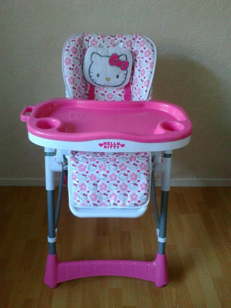 hello kitty high chair yoga swing in doncaster south yorkshire gumtree