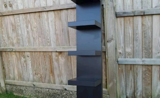 Ikea Black Wall Shelf Unit In Newmarket Suffolk Gumtree