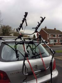 Saris Bicycle Racks. Bones 3 Bike Trunk Car Rack Saris ...