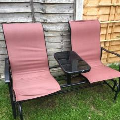 Two Seat Lawn Chairs Chair Covers For Kitchen Seater Rocking In Kesgrave Suffolk Gumtree