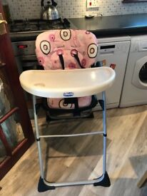 z shaped high chair the salon scoop egg in musselburgh east lothian gumtree child s chicco highchair