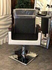 wedding chair covers devon retro kitchen table and chairs for sale white ivory x 75 in paignton gumtree x2 barbering hairdressing salon