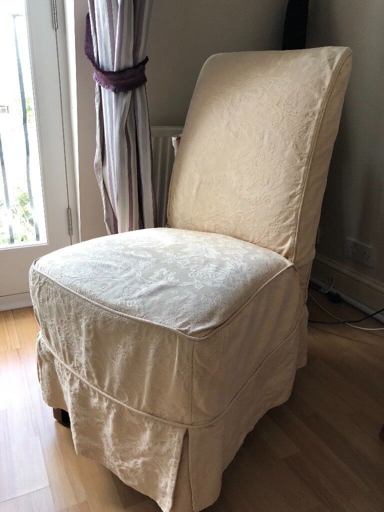 john lewis loose chair covers for sale in bloemfontein a pair of upholstered dining chairs they come with beige