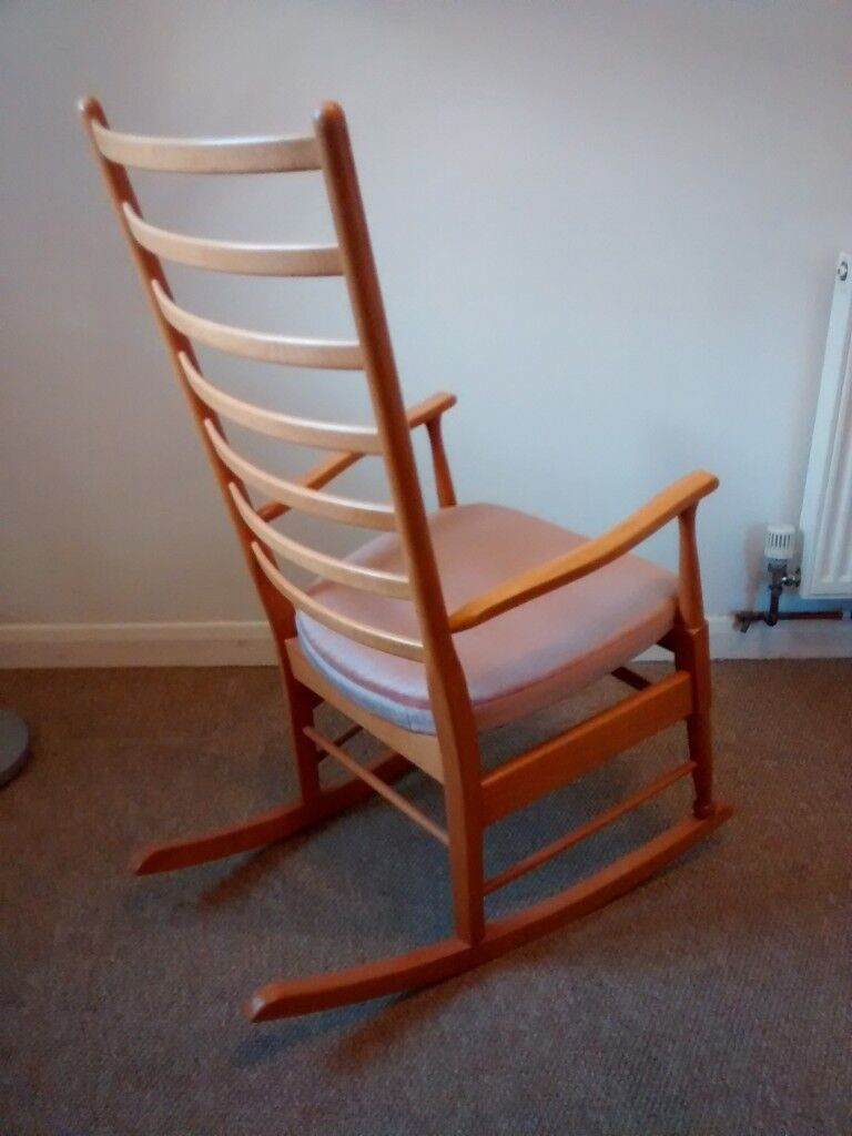 types of rocking chairs swivel chair height adjustment light wood beech type with upholstered seat in