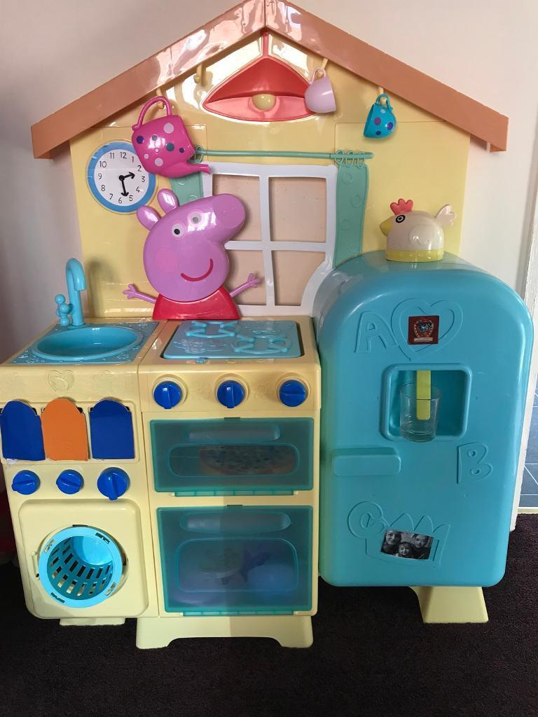 pig kitchen cabinet paint ideas peppa play toy kids toddler girl boy in south kirkby west