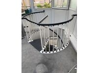Spiral Staircase For Sale Other Household Goods Gumtree | Spiral Staircase For Sale Ebay | Stair Railing | Stair Case | Wrought Iron Spiral | Handrail | Attic Stairs