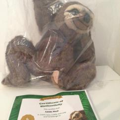 Neal Sofaworks Teddy Ikea Karlstad Sofa L Shape Rare Little Neil The Sloth From Brand New Item Never Been Opened