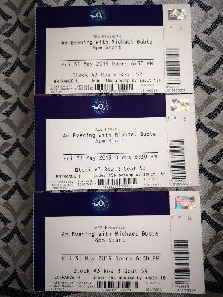 tickets for an evening