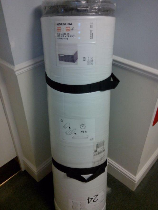 New Unused Ikea Morgedal Foam Mattress European Double 140 X 200 Cm