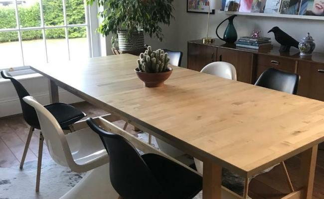 Ikea Norden Dining Table 240 Unextended Length In York