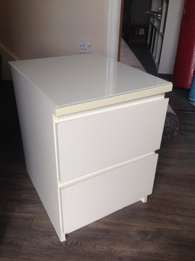 desk chair protector la z boy and a half ikea malm bedside table with glass top   in oldham, manchester gumtree