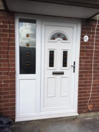 Upvc front door and side panel all one unit | in Risca ...