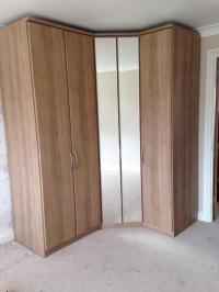 Corner Wardrobes Bedroom Furniture. corner wardrobe closet ...