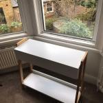 White Bamboo Console Table Argos Belvoir Range In Richmond London Gumtree