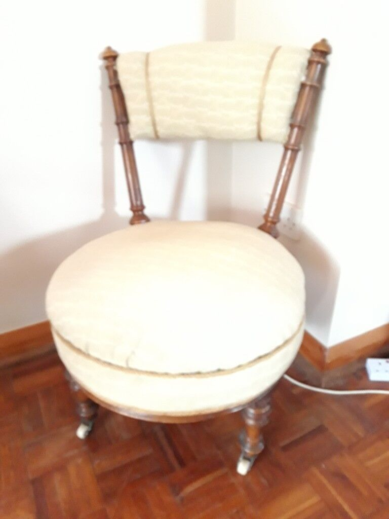 bedroom chair on gumtree high cover zobo vintage low nursing or in cream whitstable kent