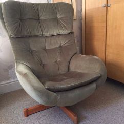 Two Seater Recliner Sofa Gumtree How To Make Arm Protectors Retro Parker Knoll Statesman Egg Chair - Excellent ...