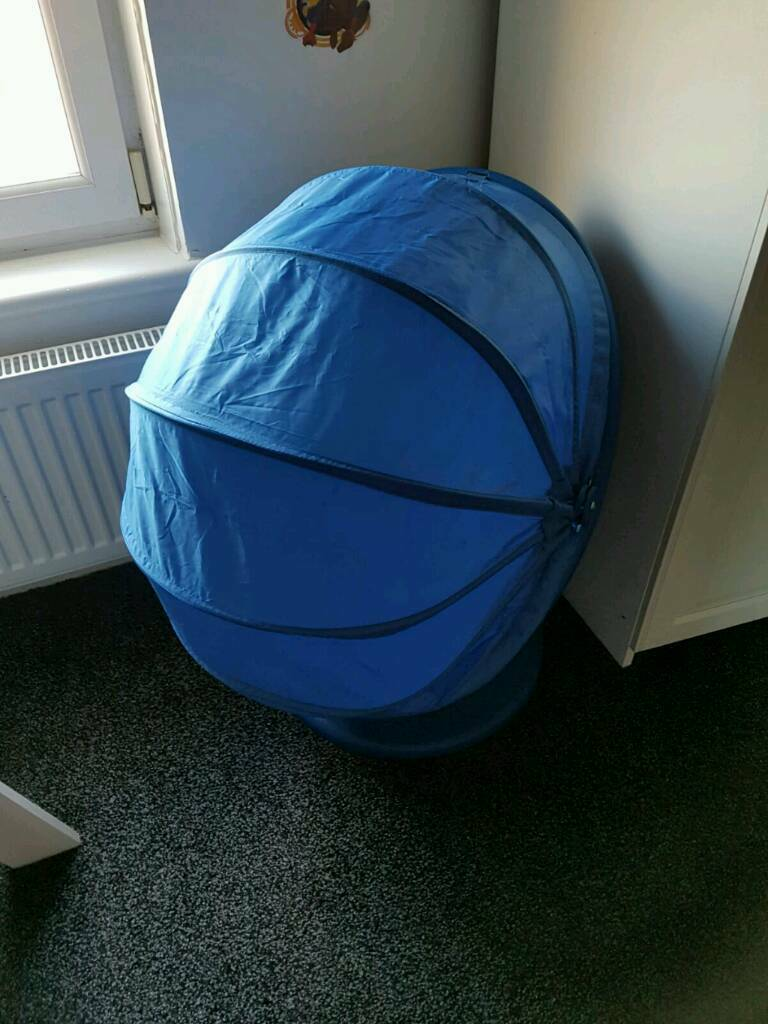 Blue Ikea Kids Cocoon Swivel Chair  in Bishopbriggs