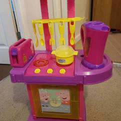 Pig Kitchen Organizing Cabinets Peppa Playset In Stoke On Trent Staffordshire Gumtree