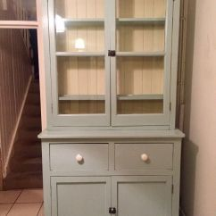 Kitchen Dresser Moen Faucet Aerator Shabby Chic French Cabinet Duck Egg Blue In