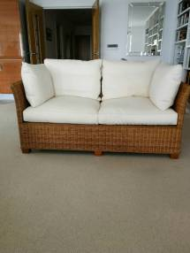 wicker sofa in poole dorset