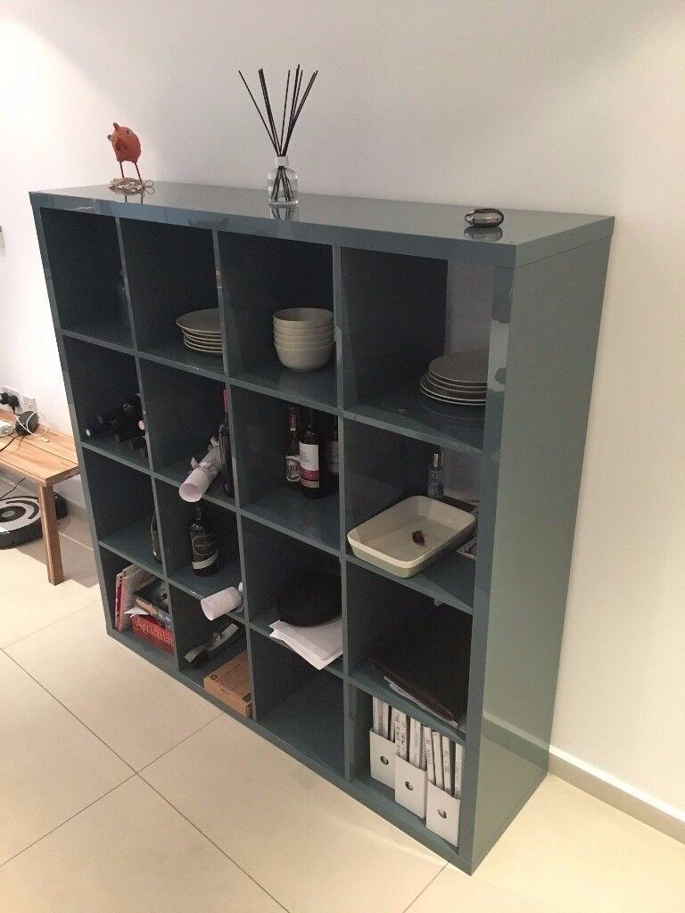 KALLAX Shelving Unit From Ikea  Highgloss greyturquoise