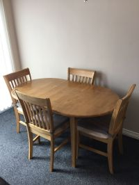 Dining table and 4 chairs from Homebase | in Penicuik ...