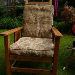 Ikea Recliner Chairs Sale Ivory Ruffled Chair Covers Antique Arts & Crafts Reclining Beech Wood Arm Library | In Stockbridge, Edinburgh ...