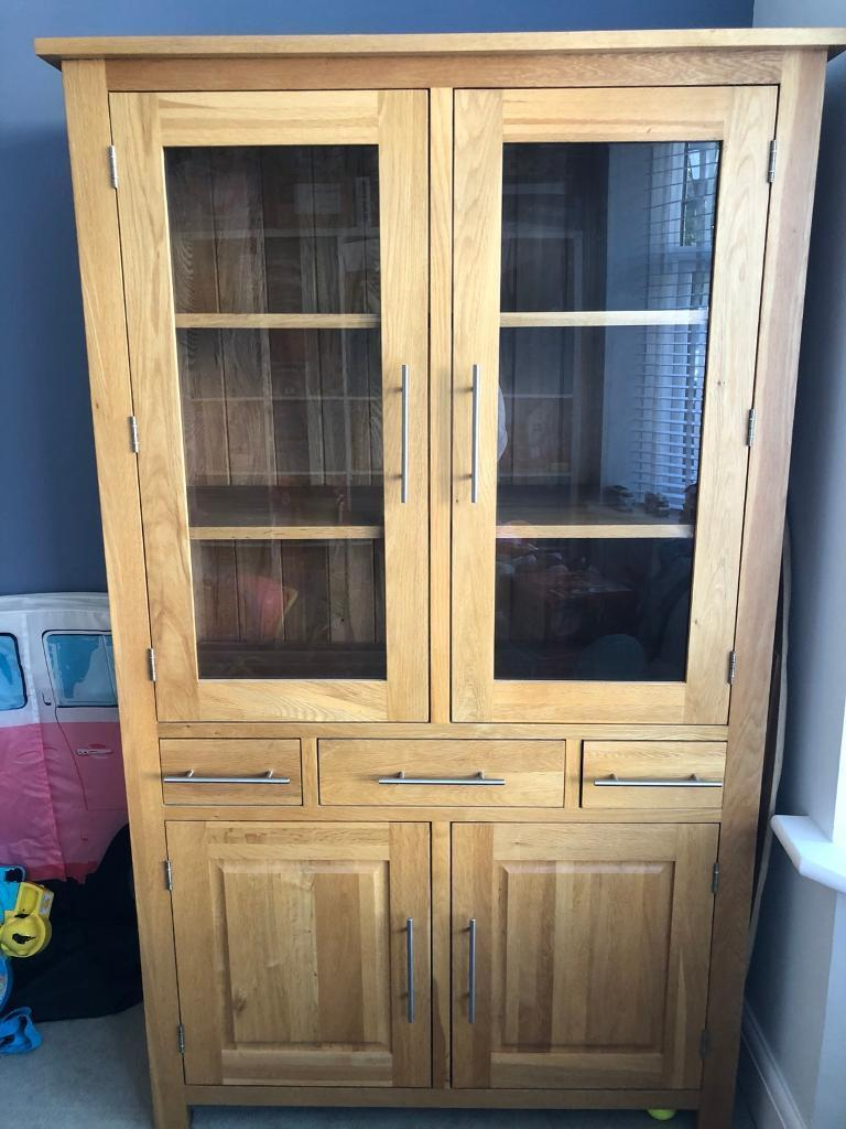 Save real money this october 2021 with. Solid oak dresser / display cabinet from Oak Furniture ...