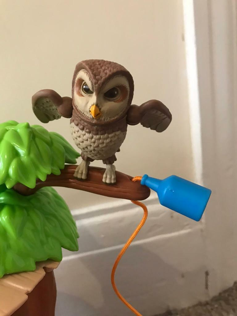 Old Brown Owl figure  for Peter Rabbit Treehouse set  in