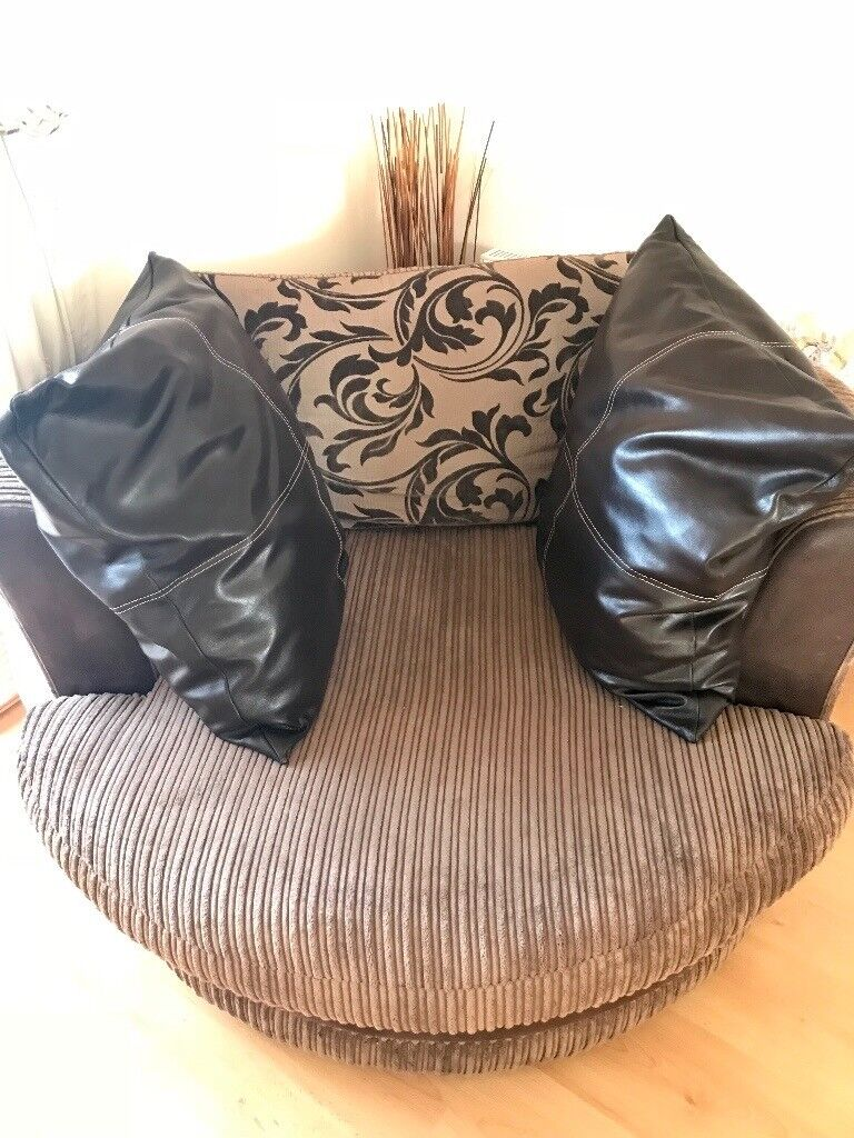 swivel cuddle chair york side table dfs in north yorkshire gumtree