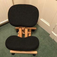 Posture Deluxe Chair Painting Metal Chairs With Rustoleum Wooden Kneeler In Morningside Edinburgh