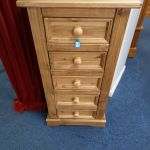 New Distressed Wax Pine 5 Drawer Narrow Chest In Loughborough Leicestershire Gumtree