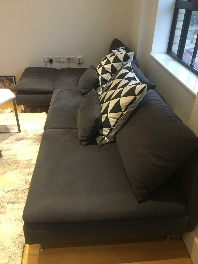 bluebell sofa gumtree how to clean pen stains from leather ikea soderhamn 4 seater 2 years old in islington