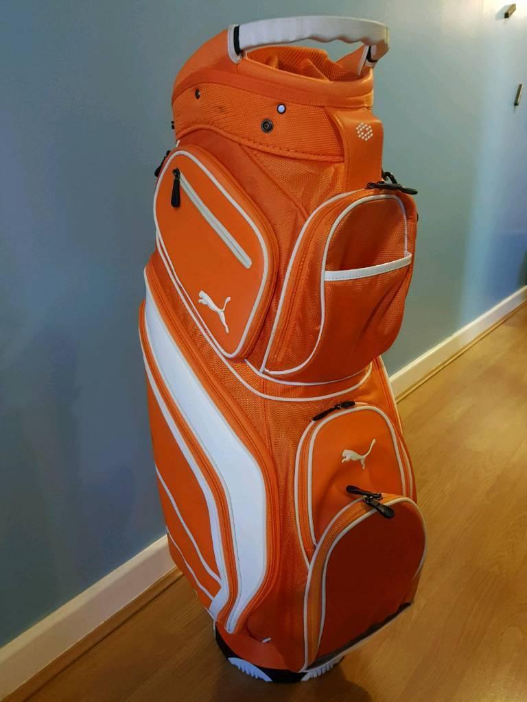 Puma Golf Cart Bag Orange