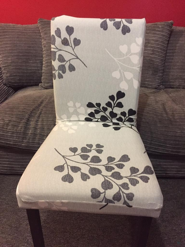 chair covers yeovil dining room white set of 4 in ramsey cambridgeshire gumtree