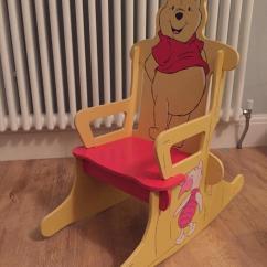 Desk Chair Gumtree Cheap Winnie The Pooh Wooden Children's Rocking   In Portsmouth, Hampshire