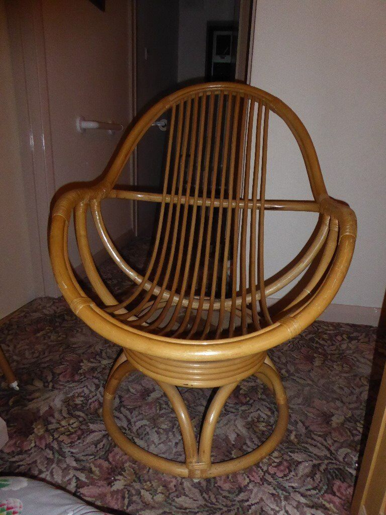 revolving chair gumtree small leather chairs reduced bamboo with cushions in maidstone kent