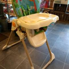 Rainforest High Chair Sears Craftsman Folding Chairs Fisher Price Highchair In Gorseinon Swansea Gumtree