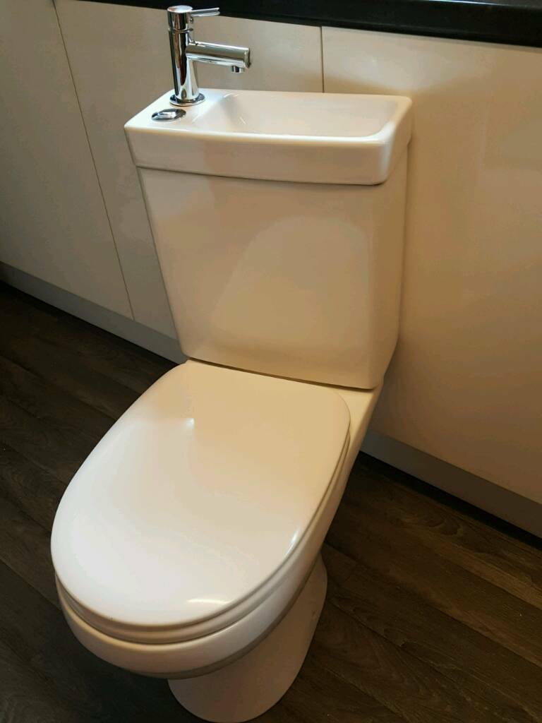 baby rocker chair massage pad cooke & lewis duetto close coupled toilet and sink combined | in cramlington, northumberland ...
